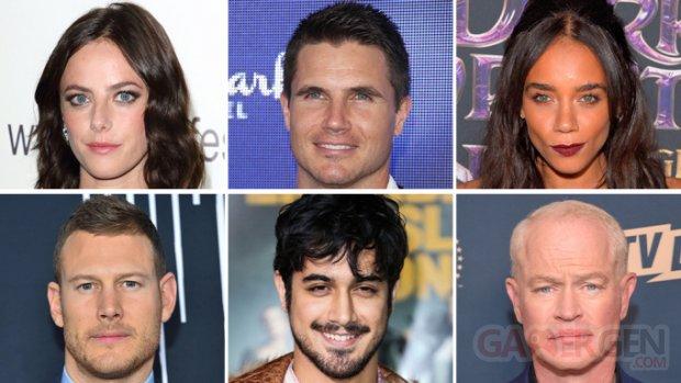 Resident Evil film 2020 casting acteurs