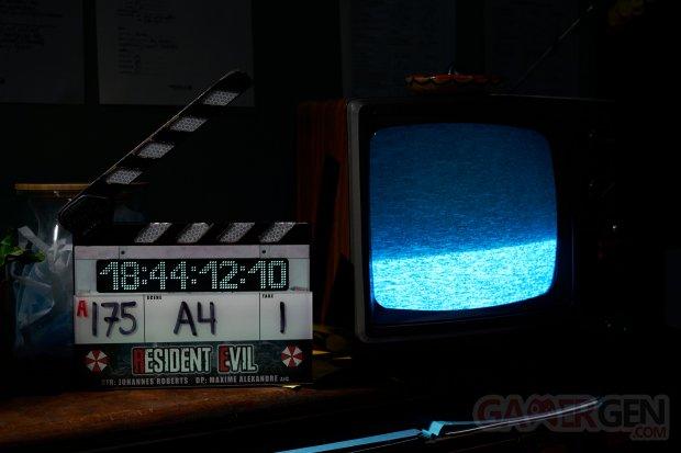 Resident Evil film 2021 fin tournage