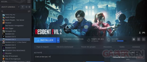 Resident Evil Franchise Steam