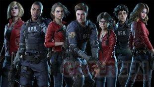 Resident Evil Resistance DLC Claire Leon