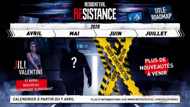 Resident Evil Resistance roadmap planning calendrier