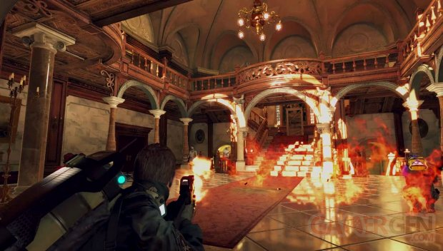 Resident Evil Umbrella Corps Manoir Spencer