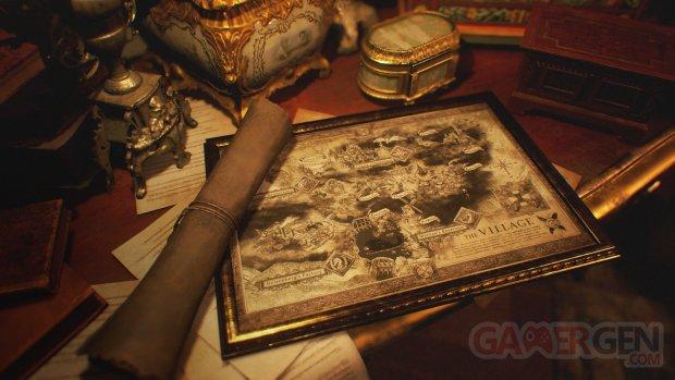 Resident Evil Village 09 04 2021 map carte
