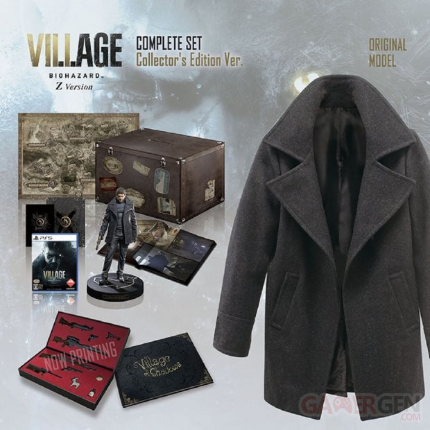 Resident Evil Village Complete Set Collector's Edition