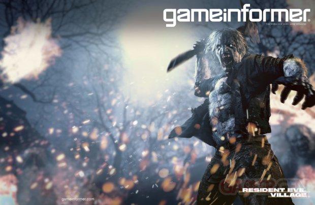 Resident Evil Village cover couverture GameInformer