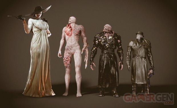 Resident Evil Village Lady Dimitrescu tyrant nemesis mr x