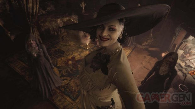 Resident Evil Village Lady head
