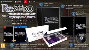 ReZERO Starting Life in Another World The Prophecy of the Throne collector 10 06 2020.