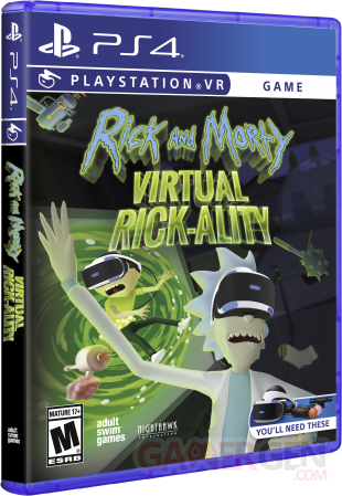 Rick and Morty Virtual Rick ality Boite Physique (1)