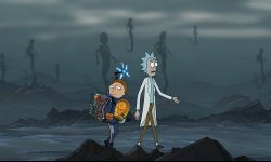 Rick & Morty Death Stranding image