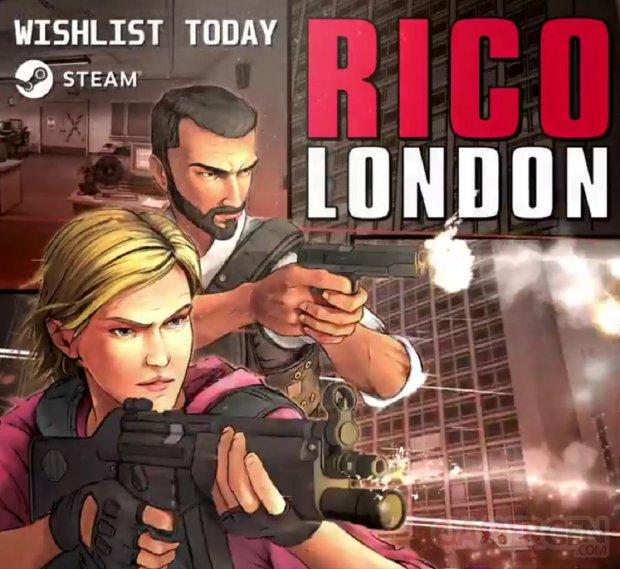 RICO London Steam Date sortie