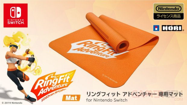 Ring Fit Adventure Mat tapis sol fitness yoga officiel HORI 1