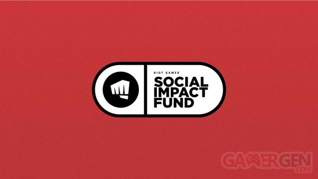 Riot games social impact funds