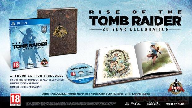 Rise of the Tomb Raider 20e?me anniversaire 1