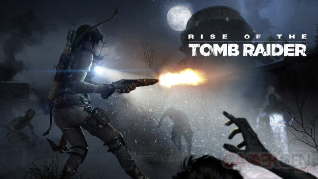 Rise of the Tomb Raider Cold Darkness art