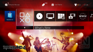 Rock Band 4 the?me PS4