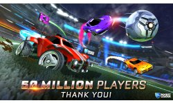 Rocket League 50 millions