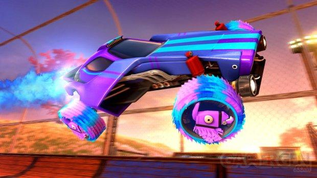 Rocket League Llama Rama screenshot 1