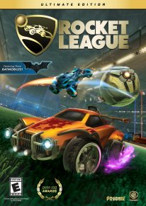 Rocket League Ultimate Edition cover art jaquette box