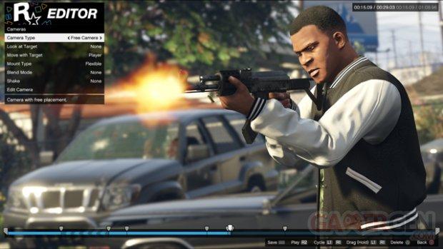 Rockstar Editor GTA V