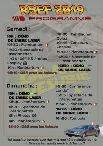 Roquebillière SF et Fantastique 2019 programme