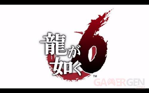 Ryu Ga Gotoku Yakuza 6 logo
