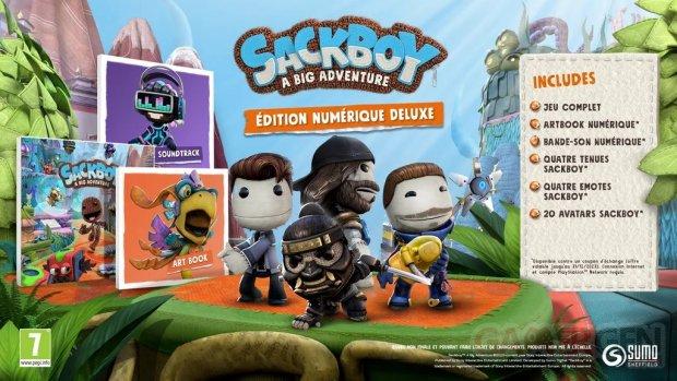 Sackboy A Big Adventure édition numérique Deluxe 29 09 2020