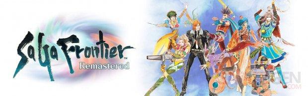SaGa Frontier Remastered logo artwork 18 02 2021