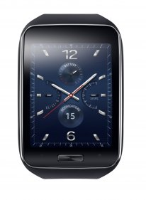 Samsung Gear S Blue Black 1