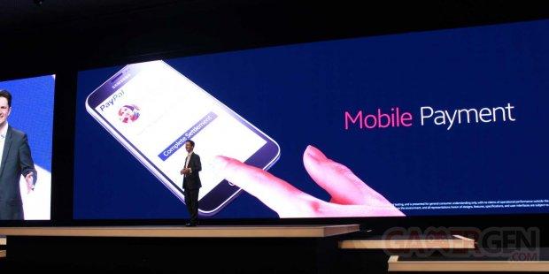 samsung paypal mobile paiement