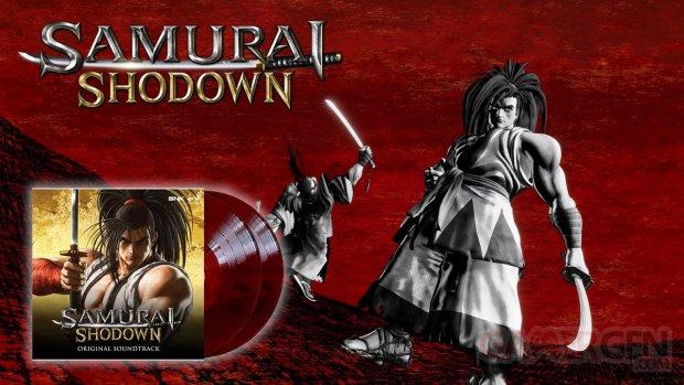 Samurai Shodown Vinyle Edition limitée Just for Games.