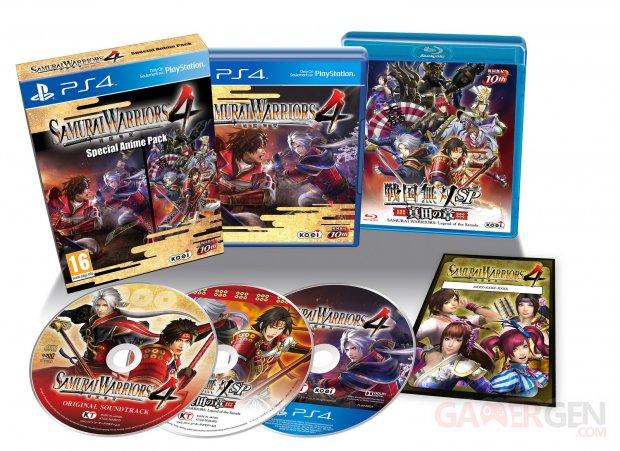 Samurai Warriors 4 edition collector 23.07.2014