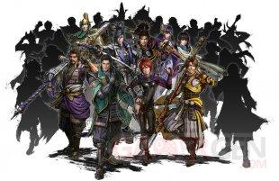Samurai Warriors 5 characters roster