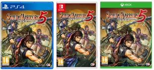Samurai Warriors 5 jaquettes