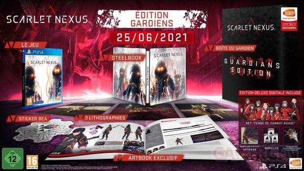 Scarlet Nexus édition Gardiens 18 03 2021