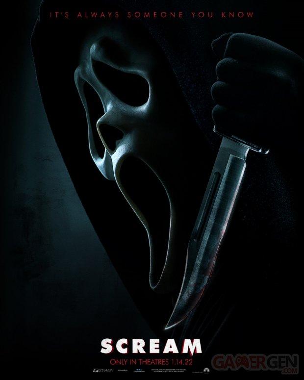 Scream Affiche Poster Teaser