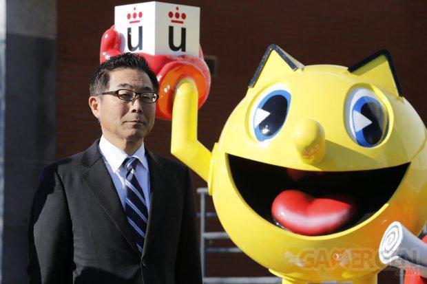 sculpture pac man espagne ambassadeur japon  (2)