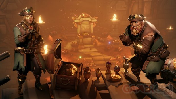 sea of thieves mise a jour gratuite lost treasures SoT LT Gold Hoarders 4k