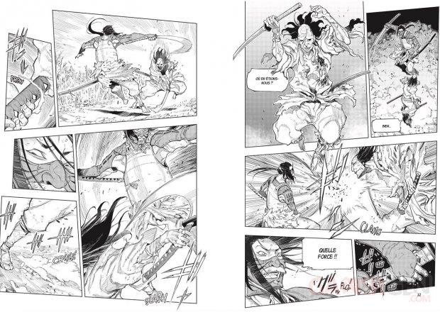 Sekiro Hanbei l'immortel Manga Mana Books (2)