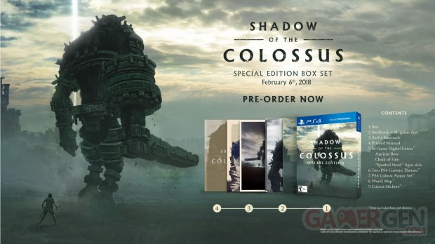Shadow of the Colossus 09 12 2017 special edition