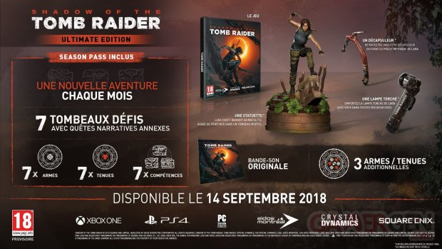 Shadow of the Tomb Raider collector ultimate 27 04 2018