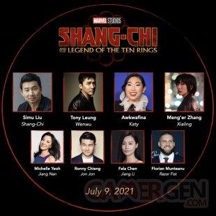 Shang Chi casting 11 12 2020
