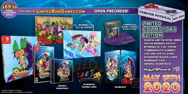 Shantae and the Seven Sirens collector LRG 06 05 2020