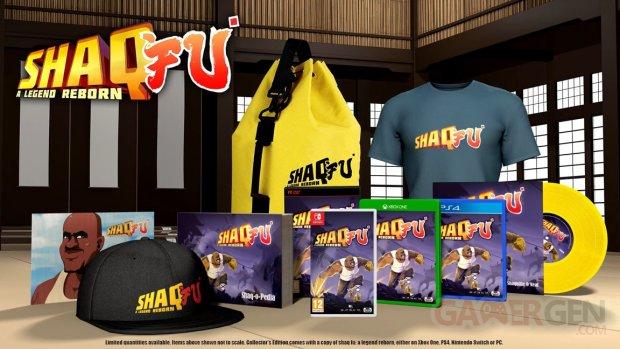 shaq fu collectors edition
