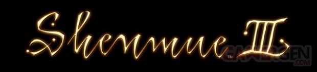 Shenmue III 3 Logo