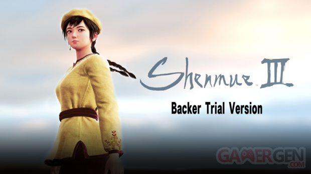 Shenmue III Backer Trial Version head