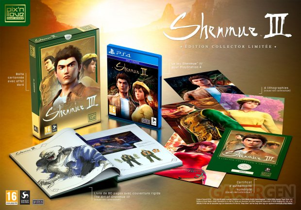 Shenmue III collector 01 04 10 2019