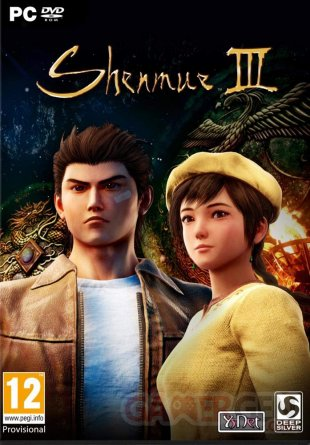 Shenmue III Jaquette Cover Boîte PC