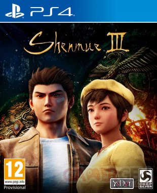 Shenmue III Jaquette Cover Boîte