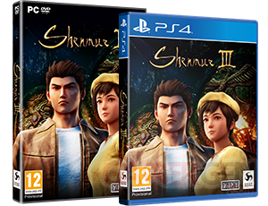 Shenmue III Jaquettes Boîtes